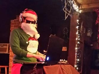 DJ at NODA Holiday Party